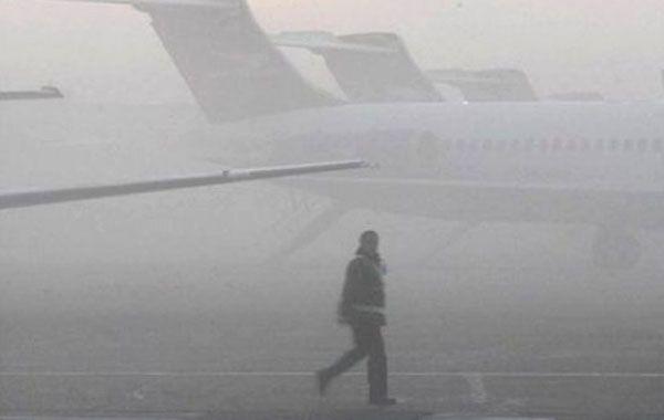 El piloto finalmente logró aterrizar ayer minutos antes de las 8 en el Aeropuerto Córdoba.