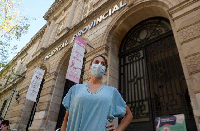 La médica de terapia intensiva del Hospital Provincial