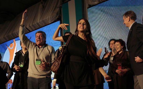 La diputada nacional porteña respaldó la gestión del gobierno provincial. (Foto: H. Río)
