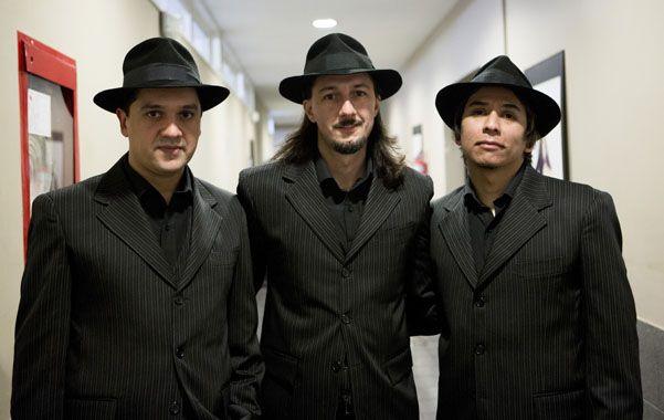 """""""Nadie puede ser Gardel"""".  El grupo porteño apuesta a una mixtura de rock y tango"""
