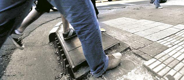En diciembre de 2005 una mujer resultó herida en el microcentro de la ciudad. (Foto: N. Juncos)