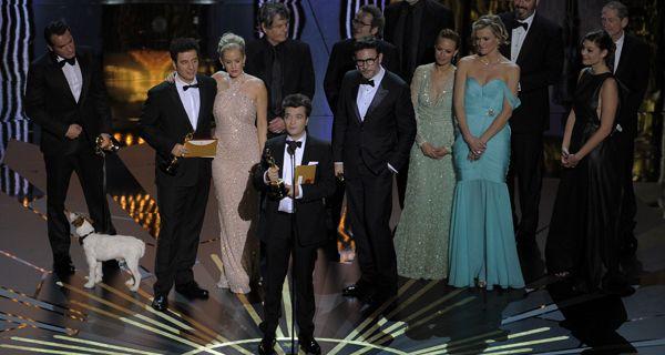 El film El artista fue distinguido como mejor película en la entrega de los premios Oscar