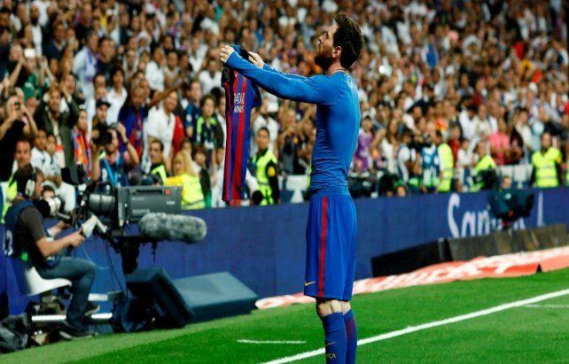 Inolvidable. Messimarcó en el final parael 3-2 de abril del 2017
