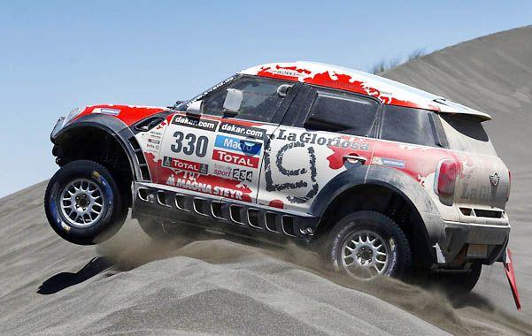 La sorpresa del Dakar 2014 la está produciendo un argentino.