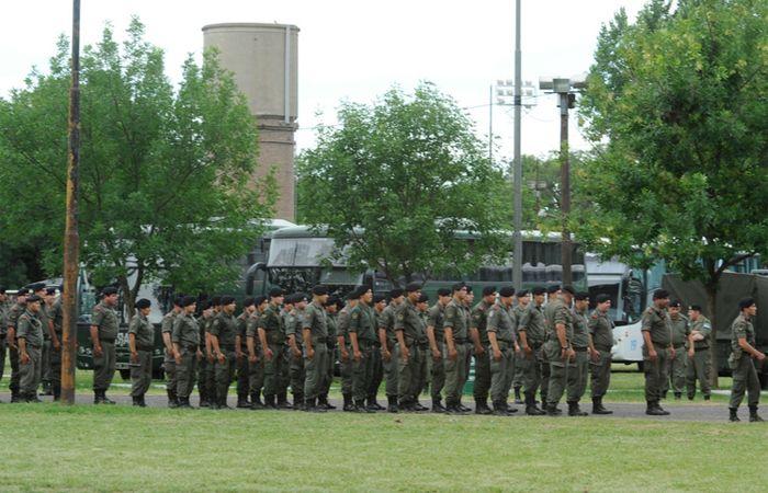 Desde el gobierno anunciaron que habrá un recambio de gendarmes.
