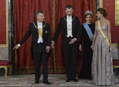 protocolo. Macri y la primera dama