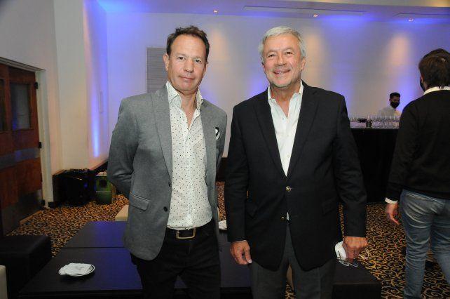Marcos Ameriso y Arturo Trini
