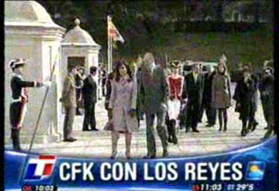Cristina y Rodríguez Zapatero resaltaron la óptima relación entre España y Argentina