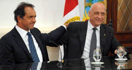 Bonfatti y Scioli confirmaron buena sintonía en una cita santafesina