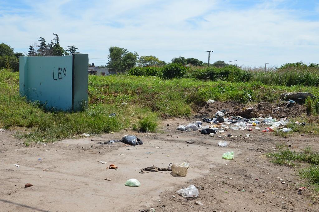 Es común ver en Venado y otras ciudades cómo se arrojan residuos que se amontonan a cielo abierto.