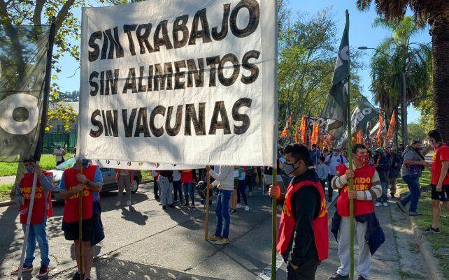 Movimientos sociales realizaron una jornada como punto de inicio de un plan de lucha a nivel nacional ante el aumento inflacionario que impacta aún más en salarios que reciben como trabajadores cooperativistas.