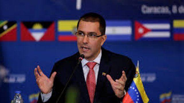 El canciller venezolano Jorge Arreaza.