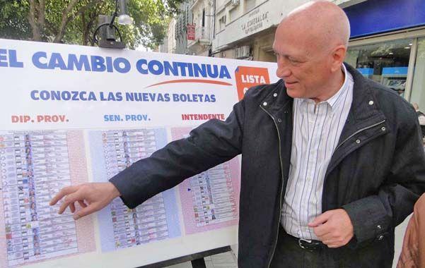 A las urnas. Bonfatti firmó el decreto número 600