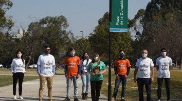 Silvia y Alejandro Trivisonno están al frente de la campaña de diñfusión de la donación de órganos que trascendió a la ciudad de Rosario.
