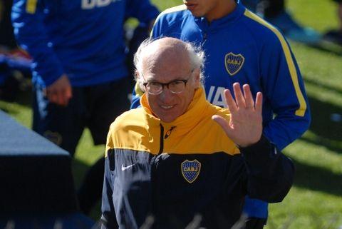 A Bianchi no se le movió un pelo el domingo para decir que para él Boca había jugado bien.