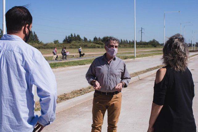Piden informes sobre el avance de las obras en la avenida interurbana