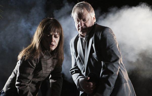 Elenco. Andrea Pietra y Jorge Marrale interpretan un matrimonio en crisis que debe enfrentarse a la infidelidad