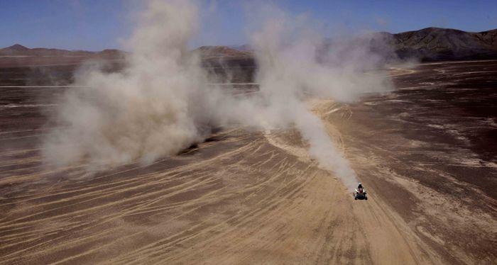 Rally Dakar: Maffei se adjudicó la segunda etapa consecutiva y lidera en cuatriciclos