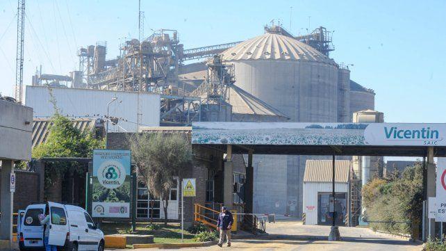 La empresa Díaz & Forti opera a fasón alquilando las instalaciones de Vicentin.