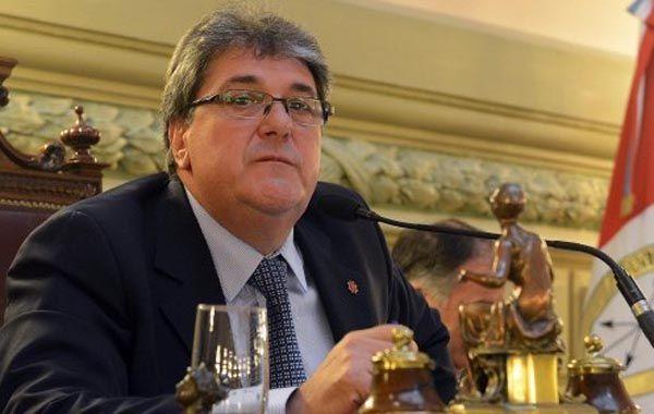 El diputado Luis Rubeo (h)