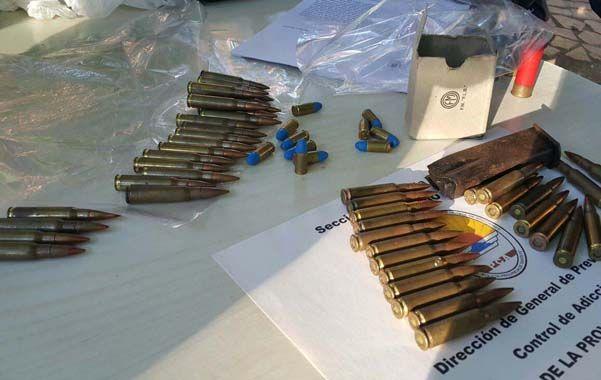 para elegir. En el lugar se hallaron balas de todos los calibres.