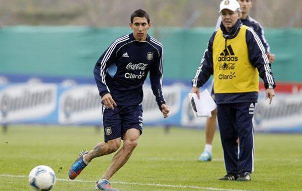 El delantero de Real Madrid descansó unos días en Rosario antes de unirse al grupo en Ezeiza.