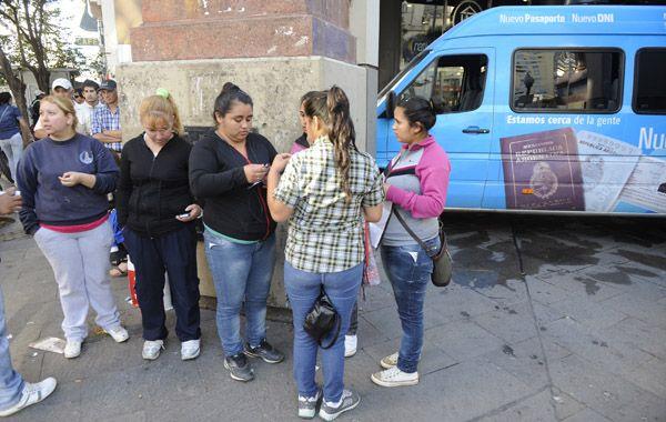 La camioneta azul se instalará nuevamente en la intersección de San Martín y Córdoba desde las 7 hs.