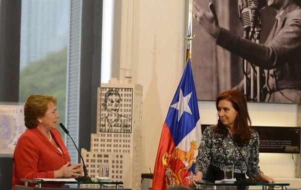 En sintonía. Bachelet y Cristina