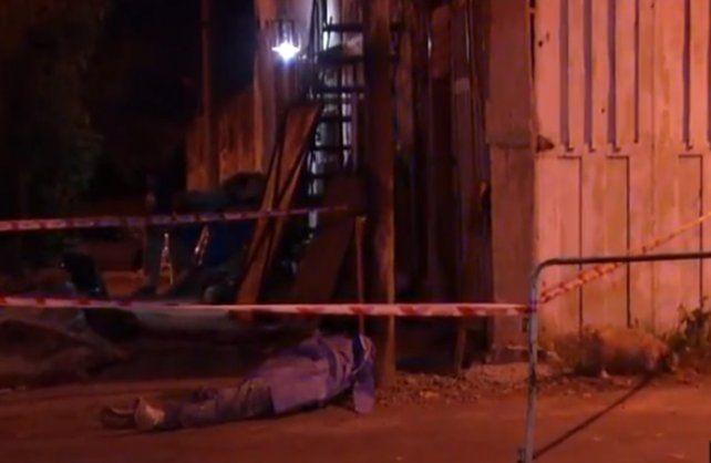Balaguer fue sorprendido por sicarios la noche del martes en Ayacucho al 4500. Lo mataron muy cerca de su casa.