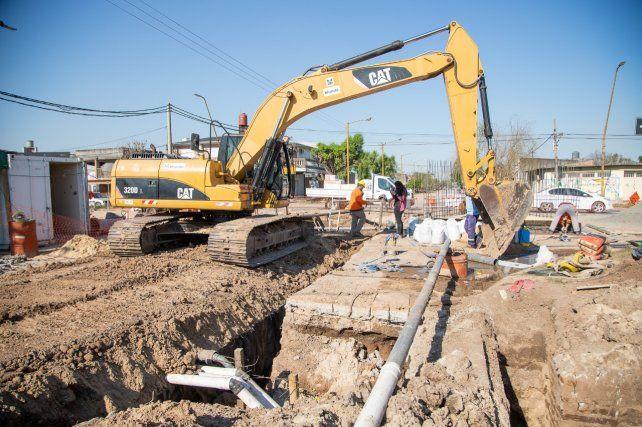 Destinan 1.440 millones de pesos a obras de saneamiento