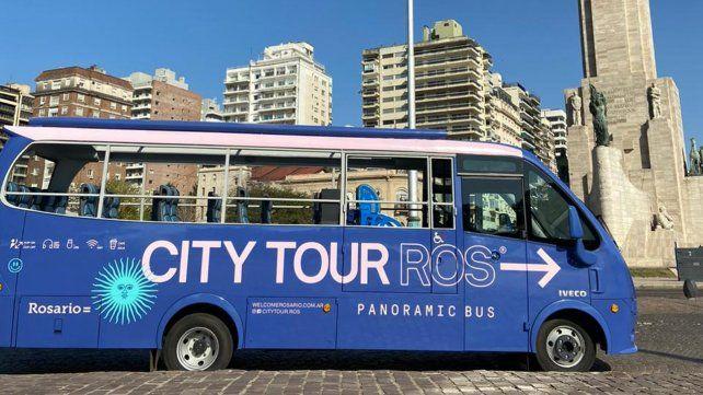 La Rosario turística se pone en marcha con tres colectivos que la recorrerán