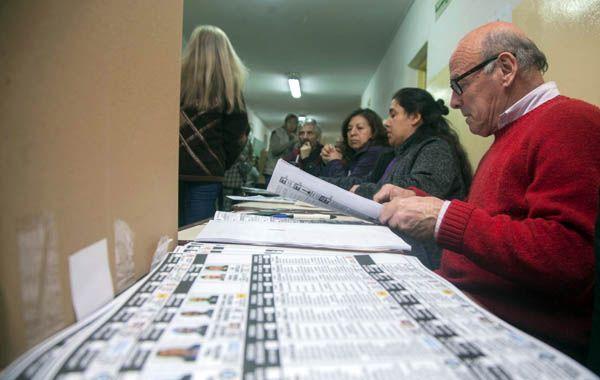 En Bariloche se implementó el sistema de boleta única.
