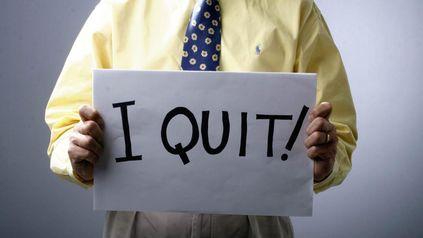 I quit!, o sea, Yo renuncio! se ha vuelto una frase muy escuchada en las empresas de los EEUU.
