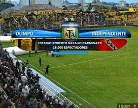 Independiente venció a Olimpo en Bahía Blanca y se alejó de la promoción