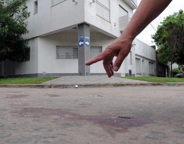 La esquina de barrio Azcuénaga donde fue linchado David Moreira