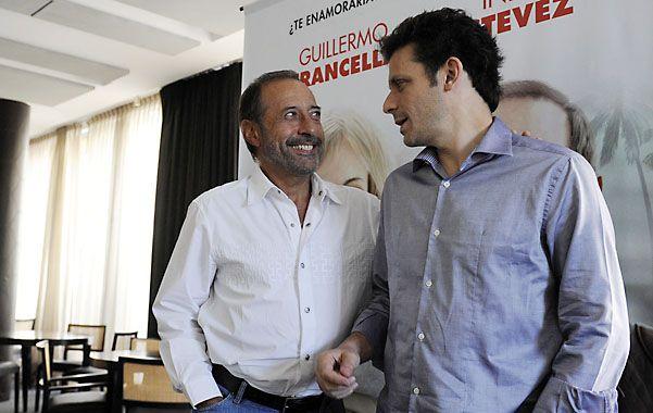 Dupla. Guillermo Francella y Daniel Burman