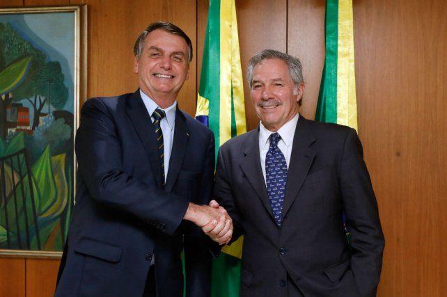 Bolsonaro expresó su apoyo al país en la renegociación de la deuda con el FMI
