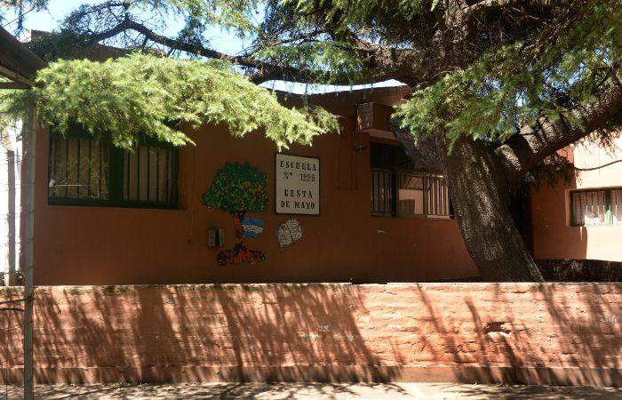 La Escuela Gesta de Mayo sufrió cuatro robos en lo que va del año.