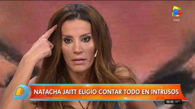 Natacha Jaitt reveló detalles de sus encuentros sexuales con Diego Latorre