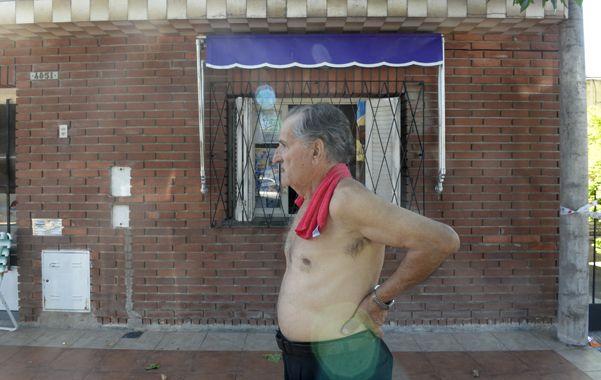 Médici al 4800. Los hampones se llevaron todos los ahorros de Salvador. (Silvina Salinas / La Capital)