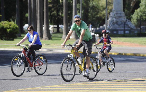Desde Rosario Bici promueven el uso de la bici como medio de transporte.
