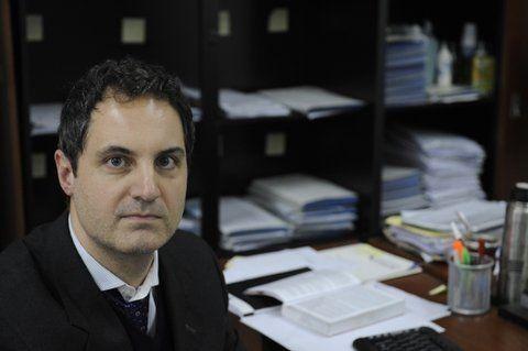 investigación.El fiscal Fernando Dalmau acusó a Héctor Yñiguez