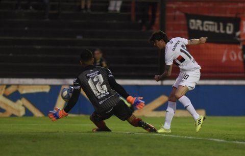 La última vez. El 19 de octubre de 2019 Newell's ganó 3 a 1 y anotó el Gato Formica.
