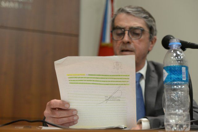 El senador interpuso un recurso de inconstitucionalidad.