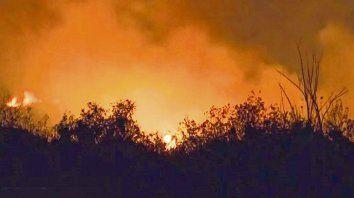 Postal repetida. La quema de pastizales en la zona de islas frente a Rosario lleva varios años sin solución, a pesar de que varios actores fueron identificados.