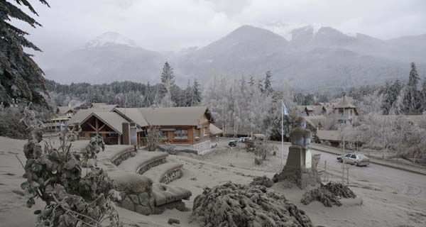 Villa La Angostura es zona de desastre