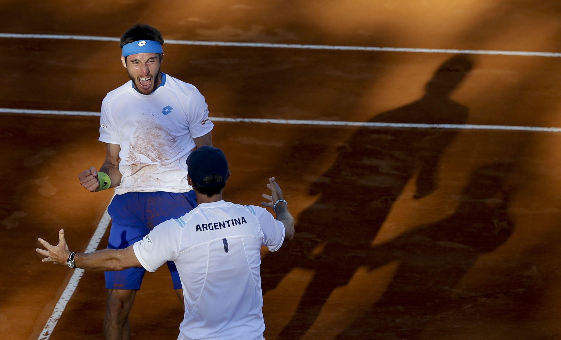 Mayer abrirá hoy en Tecnópolis la serie de cuartos de final de Copa Davis ante Krajinovicdo.