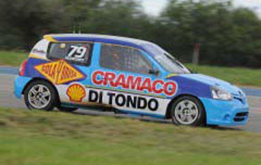 El sanjorgense (Clio) terminó 5º en la primera prueba clasificatoria. Mohamed (Gol) fue el más veloz en Neuquén.