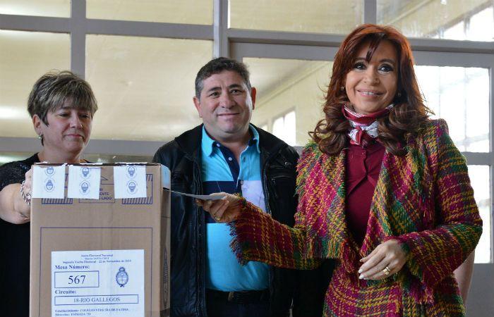 La mandataria nacional fue denunciada por violar la veda electoral. (Foto: NA)