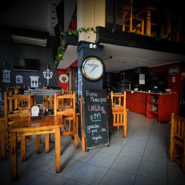 A la espera. Los tradicionales bares del microcentro continúan cerrados.